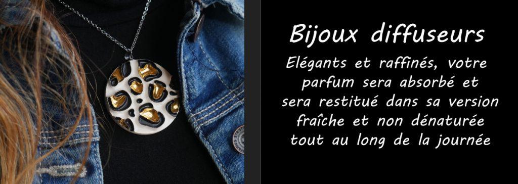 Bijoux diffuseurs : Elégants et raffinés, votre parfum préféré sera absorbé et restitué dans sa version fraîche et non dénaturé tout au long de la journée.