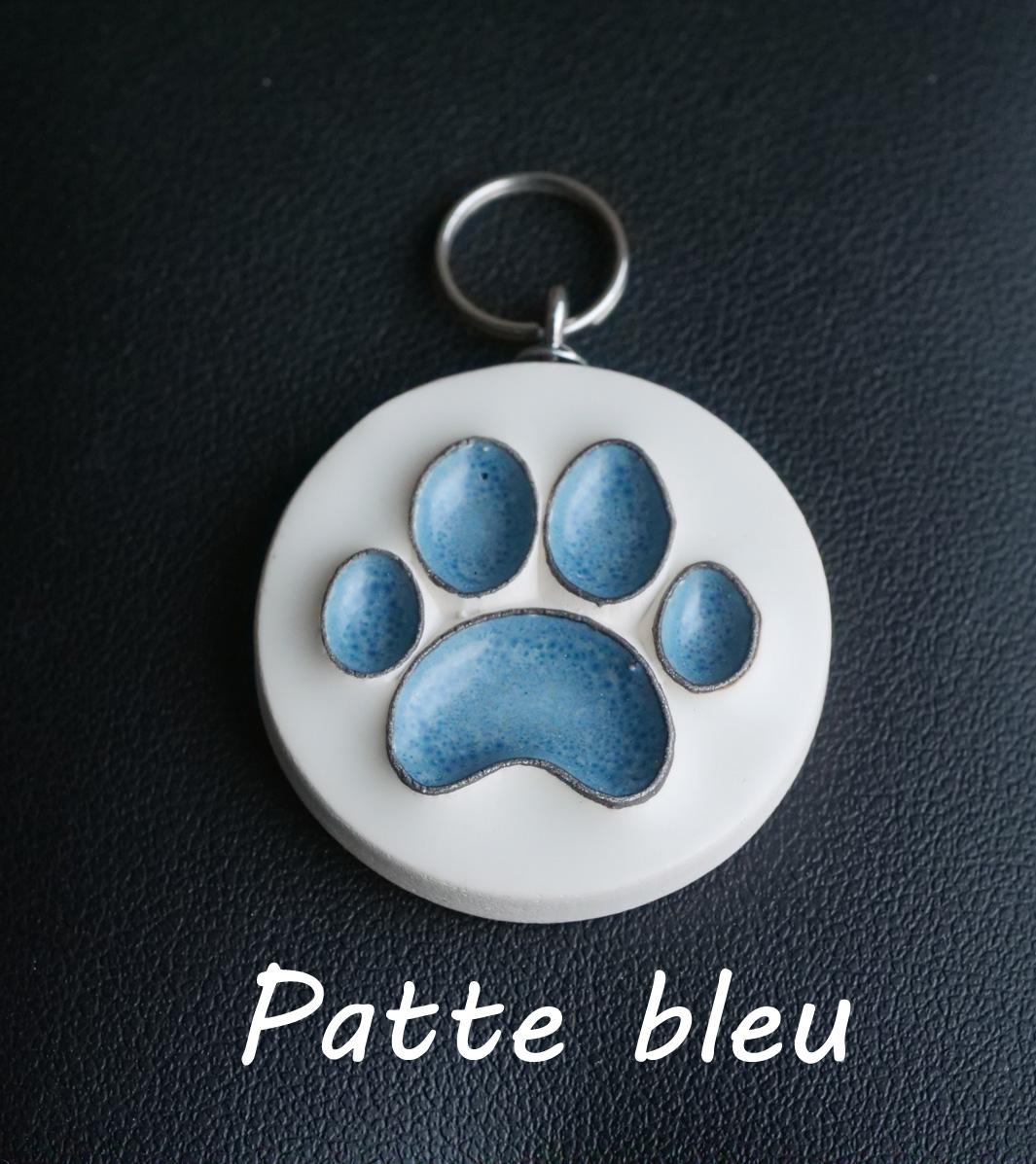 Patte bleue